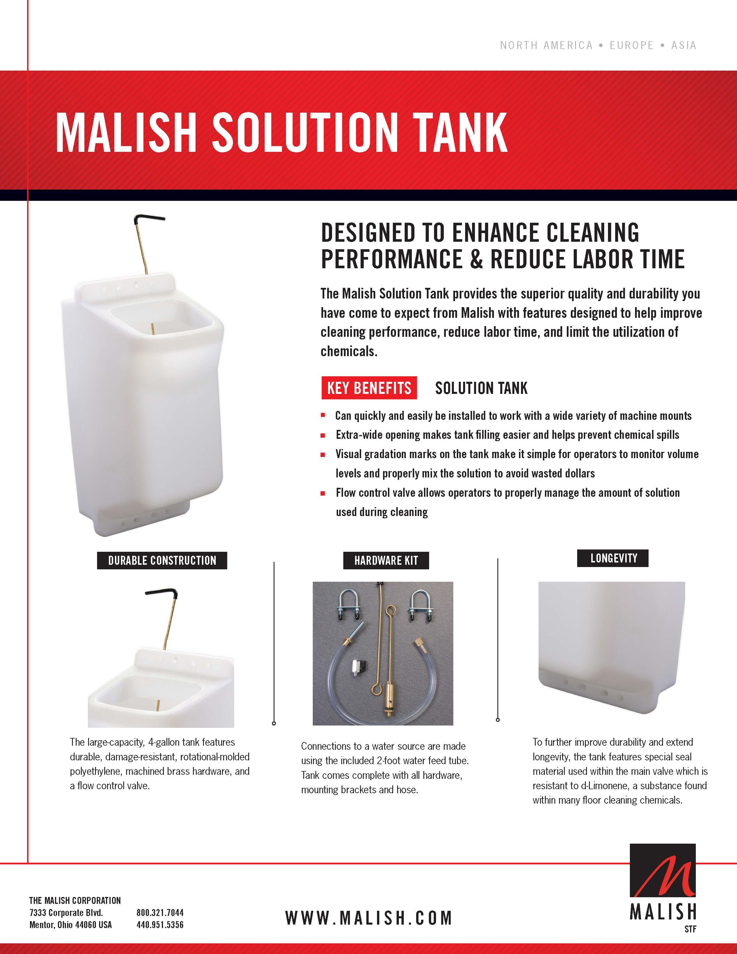 The Malish Shampoo Tank