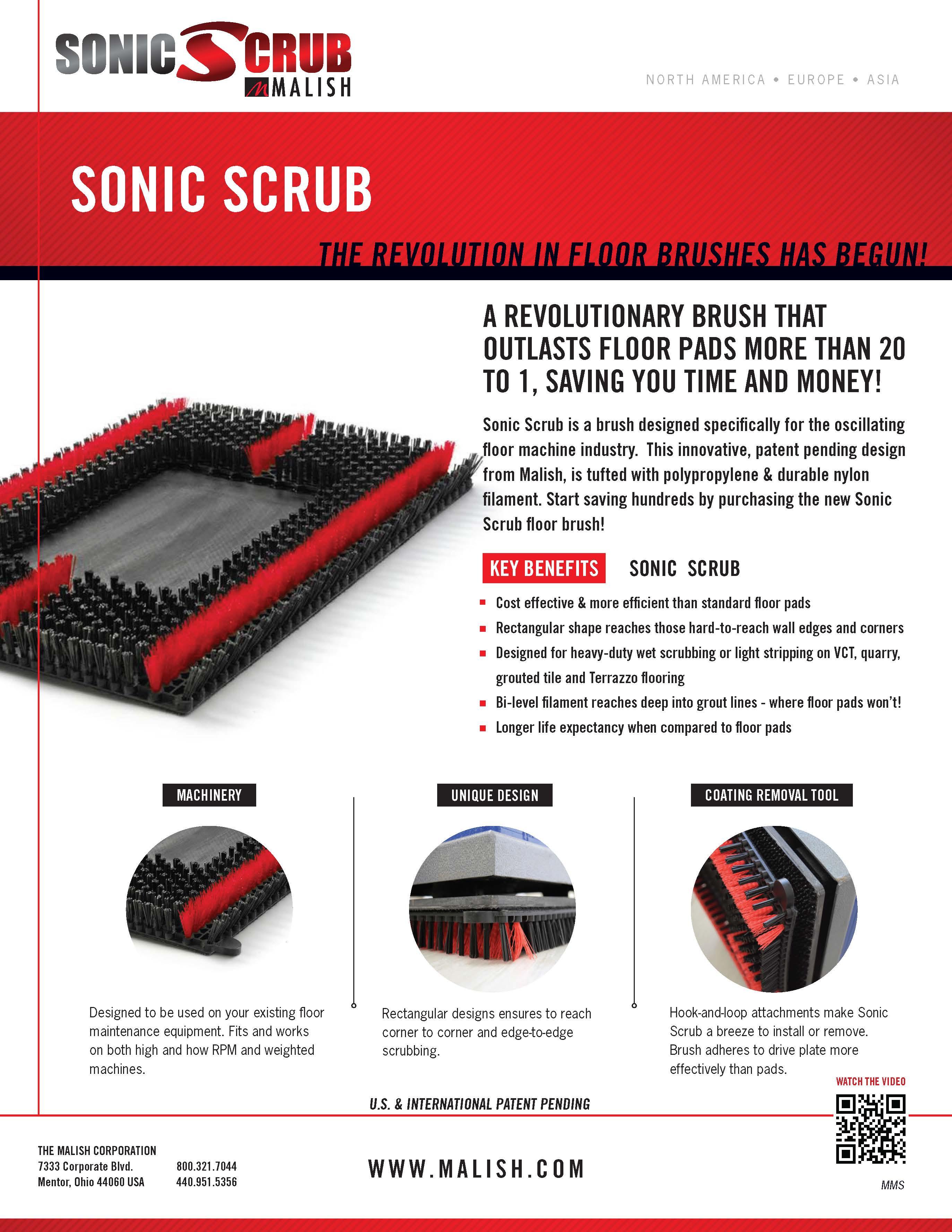Malish Sonic Scrub