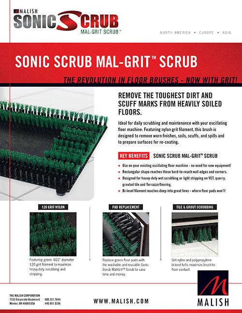 Sonic Scrub al-Grit Scrub