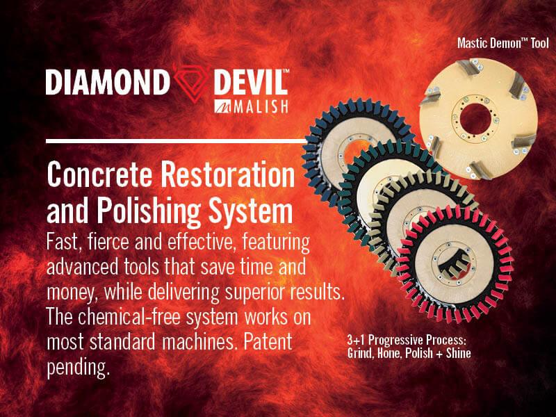 Malish Diamond Devil Mastic Remover