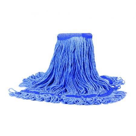 Blue Looped-End Mop