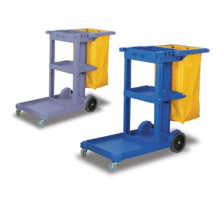 janitorial trolley cart